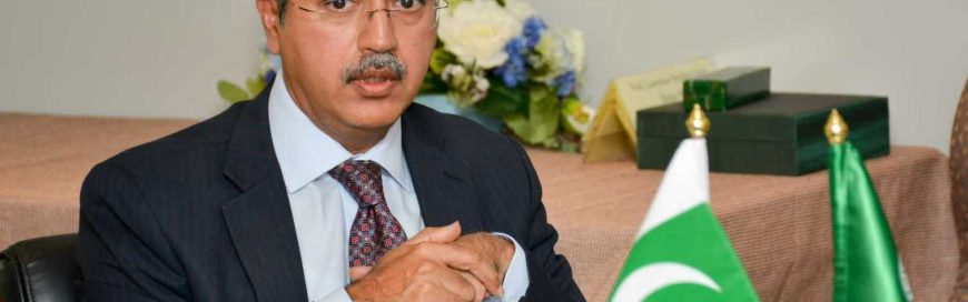 Pakistan Ambassador for expansion of cooperation with AIT