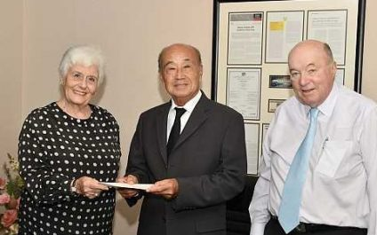 JFK Foundation donates 500,000 THB for Thanat Khoman Memorial Lecture