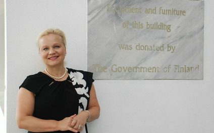 Finland's ambassador seeks to revitalize ties with AIT