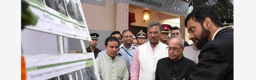 AIT technologies power newly inaugurated dwellings in Indian Presidential Retreat