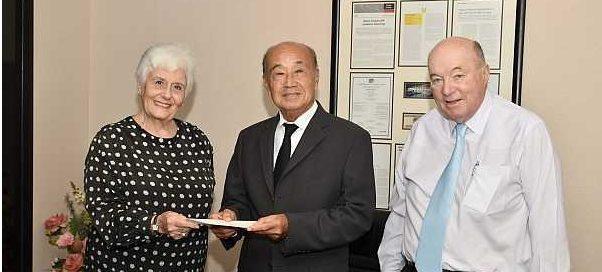 JFK Foundation donates 500,000 THB for Thanat Khoman Memorial Lecture