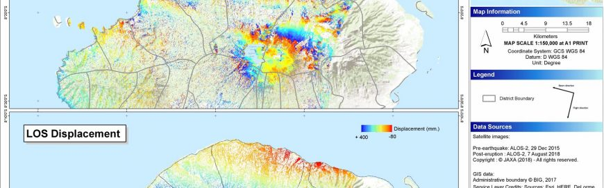 AIT prepares disaster maps to help rescue work following Lombok earthquakes