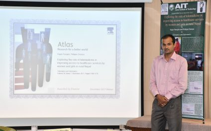 AIT student's research selected as Elsevier Atlas article of the month